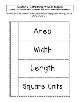 3rd Grade Interactive Math Notebook Module 4