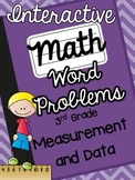 3rd Grade Interactive Math Notebook-Word Problems {MEASUREMENT & DATA}