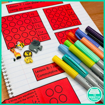 3rd Grade Interactive Math Notebook: Engage NY Module 1 (Original)