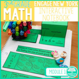 3rd Grade Math Engage New York Aligned Interactive Notebook: Module 1