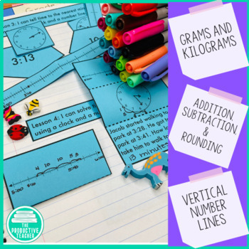 Engage New York Math Aligned Interactive Notebook: Grade 3, Module 2