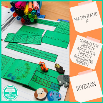 Engage New York Math Aligned Interactive Notebook: Grade 3, Module 3