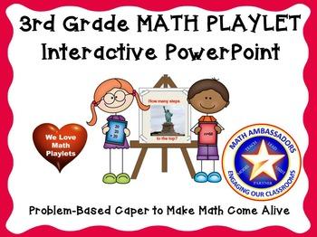 3rd Grade Interactive Math Playlet: Statue of Liberty