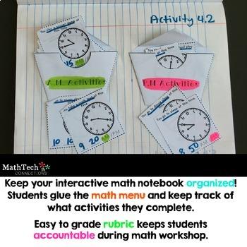 Interactive Math Notebook 3rd Grade - BUNDLE
