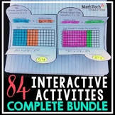 Interactive Math Notebook 3rd Grade - BUNDLE