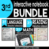 3rd Grade Interactive Notebook BUNDLE {ELA & MATH}