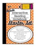 3rd Grade Interactive Reading Notebook Starter Set