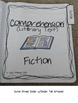 3rd Grade Interactive Reading Notebook - TEKS Aligned