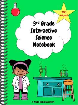 3rd Grade Interactive Science Notebook Kit - TEKS Aligned