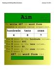 3rd Grade Interactive Smart Board Lesson Math Test Prep Re