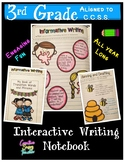 3rd Grade Interactive Writing Notebook