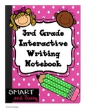 3rd Grade Interactive Writing Notebook TEKS Aligned
