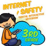 3rd Grade Internet Safety Digital Interactive Notebook