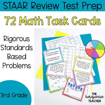 3rd Grade Jenga Math Game - Test Prep - Review - 72 Rigoro