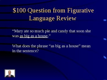 3rd Grade Jeopardy - 3rd Grade ELA Reading and Language Review