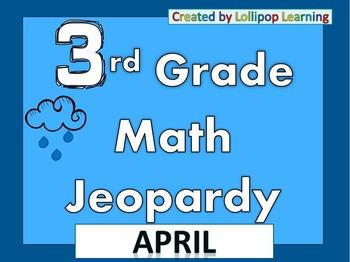 3rd Grade Jeopardy (April)
