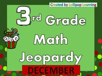 3rd Grade Jeopardy (December)