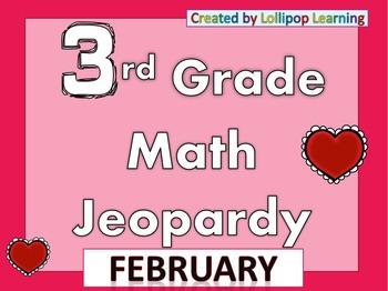3rd Grade Jeopardy (February)