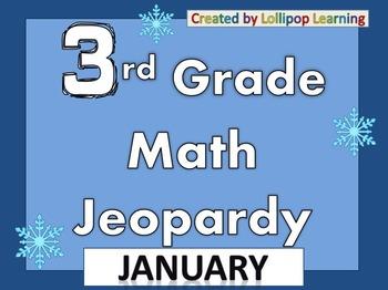 3rd Grade Jeopardy (January)