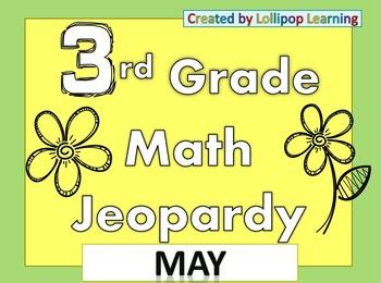 3rd Grade Jeopardy (May)