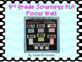 3rd Grade Journey's Focus Wall