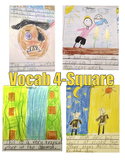 3rd Grade Journey's Reading: Vocabulary 4-Squares