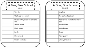 3rd Grade Journey's Vocab/Spelling/Focus Sheets