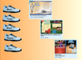 3rd Grade Journeys 2017 SMARTboard Foot Race Across America