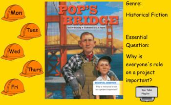 3rd Grade Journeys 2017 Pop's Bridge
