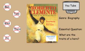3rd Grade Journeys 2017 Roberto Clemente