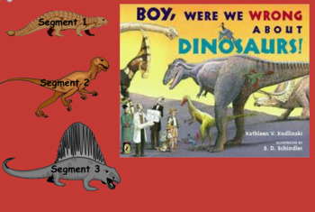 3rd Grade Journeys 2017 SMARTboard Boy Was I Wrong About Dinosaurs