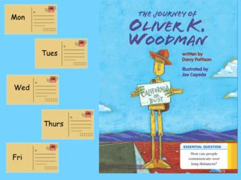3rd Grade Journeys 2017 SMARTboard Journey of Oliver K. Woodman