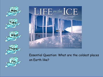 3rd Grade Journeys 2017 SMARTboard Life on the Ice