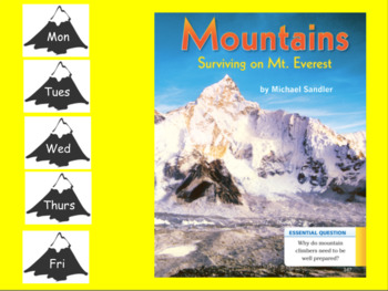 3rd Grade Journeys 2017 SMARTboard Mountains: Surviving Mount Everest