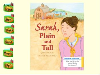 3rd Grade Journeys 2017 SMARTboard Sarah, Plain and Tall