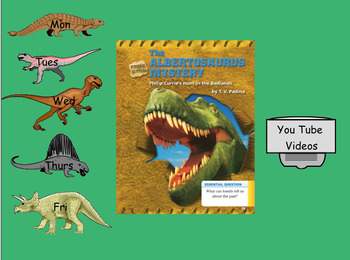 3rd Grade Journeys 2017 SMARTboard The Albertosaurus Mystery