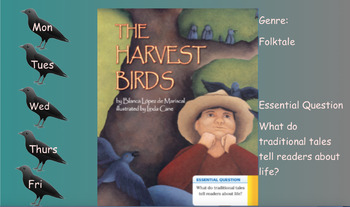 3rd Grade Journeys 2017 SMARTboard The Harvest Birds