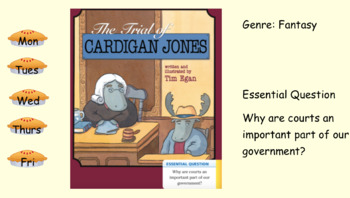 3rd Grade Journeys 2017 The Trial of Cardigan Jones