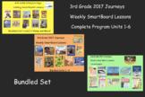 3rd Grade Journeys 2017 Unit 1-6 SmartBoard Lessons Bundle