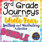 3rd Grade Journeys | Spelling and Vocabulary | BUNDLE
