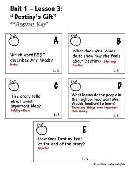 Journeys 3rd Grade:  Comprehension
