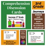 Journeys 3rd Grade: Comprehension Cards