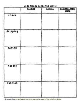 3rd Grade Journeys Reading Series Vocabulary Activities Unit 4