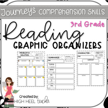 3rd Grade Journeys Reading Skills Graphic Organizers