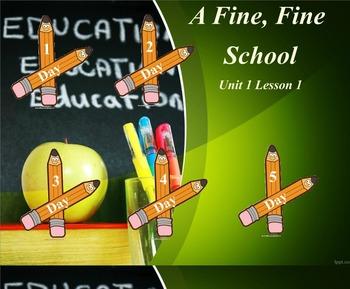 3rd Grade Journeys Reading Unit 1 Lesson 1 Smartboard Lessons