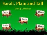 3rd Grade Journeys Reading Unit 5 Lesson 21 Smartboard Lessons