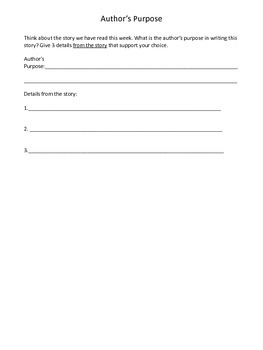 3rd Grade Journeys Review Sheets Unit 4