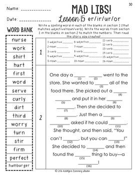 3rd Grade Journeys Spelling Worksheets by Katelyn's ...
