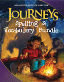 3rd Grade Journeys Spelling & Vocabulary Bundle, Lesson 1-30
