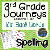 3rd Grade Journeys | Spelling | Win Back Words | LESSONS 1-30